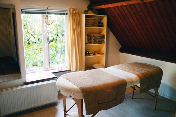Massage praktijkruimte